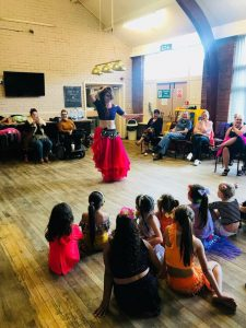 belly dancer group tuition