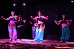 group belly dance show