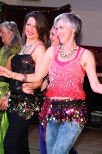 group belly dance class for all ages