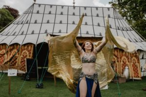 hiring a belly dancer to perform at event