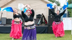 Shimmy School Belly dance Belly Dancers performing
