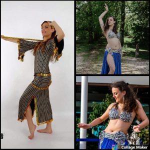 Shimmy School belly dancer dancing saidi