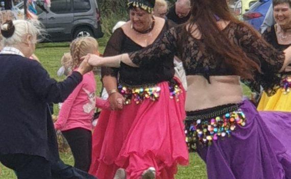 Shimmy School performing Dabke Belly Dance