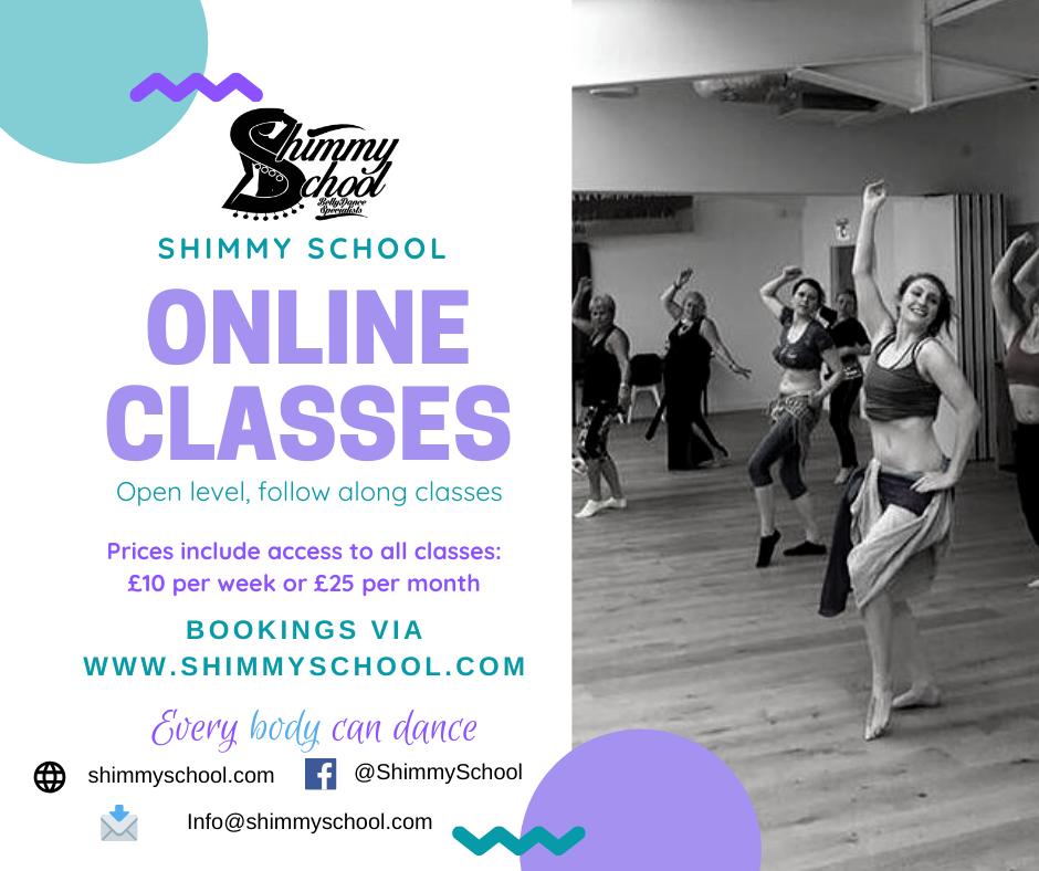 Shimmy School Online Classes
